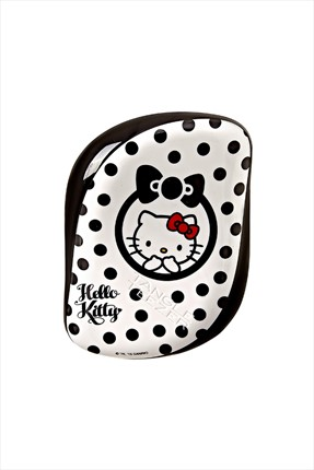 Tangle Teezer Compact Syler Serisi - Hello Kitty Black Red