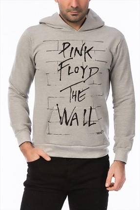 Mightee Erkek Gri Melanj The Wall Sweatshirt