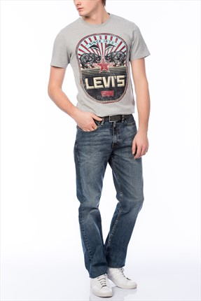 Levi's Erkek 514 Slim Straight Fit Jean 04514 Slim Straight-0387