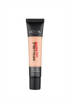 L'Oreal Paris Mat Fondöten - Infallible 24H Matte 30 Honey