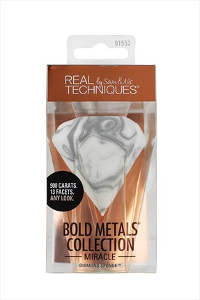 Real Techniques Makyaj Süngeri - Bold Metals Miracle Diamond Sponge