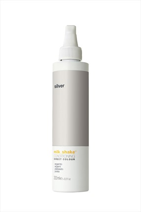 Milkshake Gri Geçici Saç Boyası - Direct Color Silver 200 ml