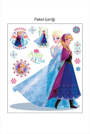 Artikel Frozen-2 Dev Duvar Sticker