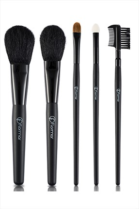 5'li Makyaj Fırça Seti - 5 Pieces Make-Up Brush Set
