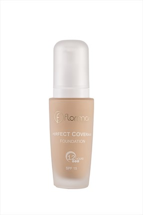 Flormar Fondöten - Perfect Coverage Foundation Light Ivory 30 ml