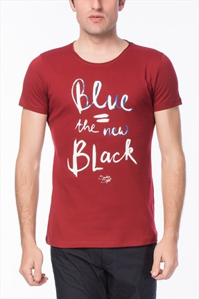 Superlife Erkek Bordo T-Shirt Spr 662
