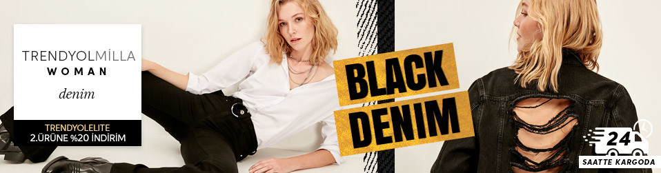 TRENDYOLMİLLA - Black Denim