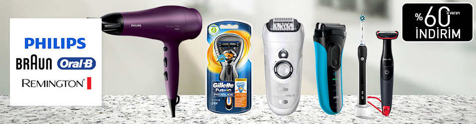 PHILIPS & Braun & Remington & Oral-B