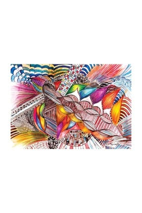 Ks Games Colorfull Abstract 1000 Parça Puzzle - Ayşe Demirsoylu /