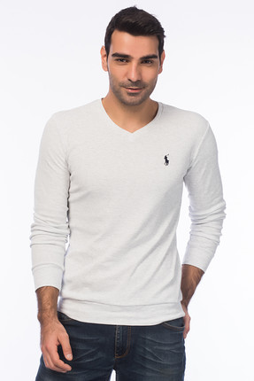 Superlife Erkek Acık Gri Sweatshirt SPR 928