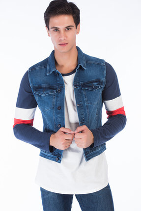 SAM 003 Erk Denim Yelek-RD18YE220942
