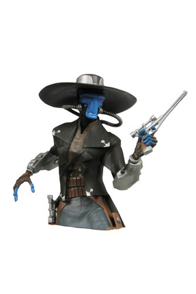 Diamond Select Star Wars Cad Bane Bust Bank Kumbara Figür