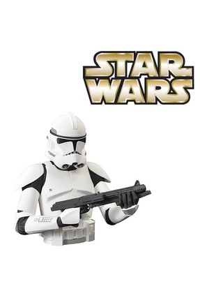 Diamond Select Star Wars: Clone Trooper Bust Bank Kumbara