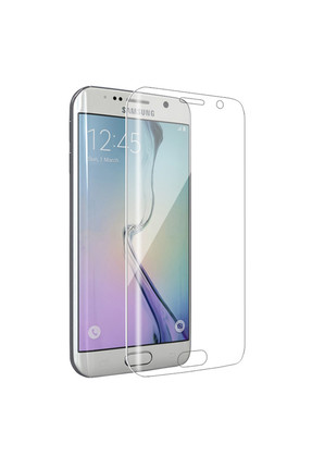 CaseLeap Samsung Galaxy S6 Edge Full Body Tam Kaplama  Korumalı Film 360 Full Cover
