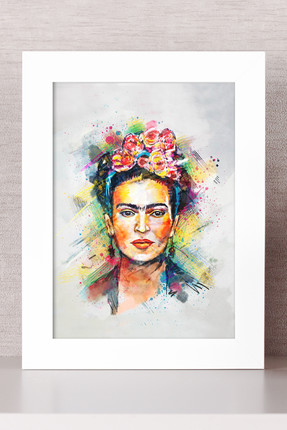 Bc Home Frida Kahlo Çerçeveli Tablo