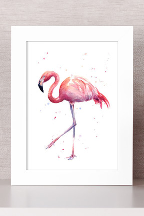 Bc Home Flamingo Çerçeveli Tablo
