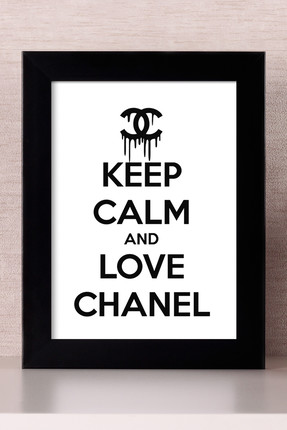 Bc Home LOVE CHANEL Çerçeveli Tablo
