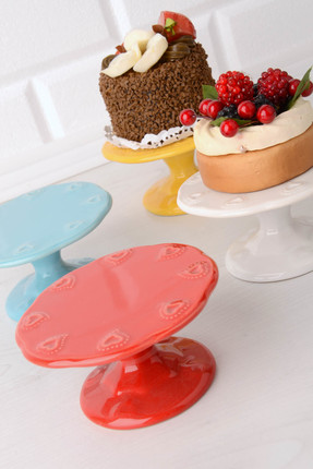 Kitchen World 4'lü Seramik Cup Cake ve Muffin Standı SMK-03 KSV