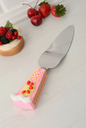 Kitchen World Polyester Saplı Çelik Spatula