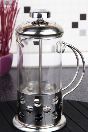HERA Metal Kaplama French Press Metalik