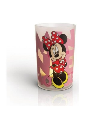 Mumlar Minnie Mouse 1 Set Beyaz Led Masa Lambası