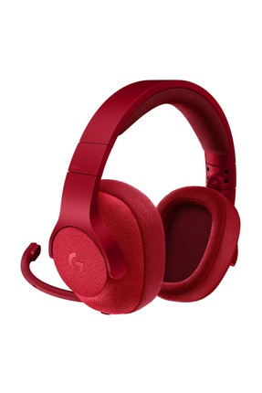 G433 7.1 SURROUND GAMING HEADSET FIRE RED 981-000652