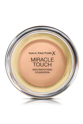 Max Factor Kompakt Fondöten - Miracle Touch Foundation 045 Warm Almond