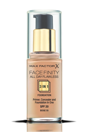 Max Factor Fondöten - FaceFinity All Day Flawless Foundation 055 Beige