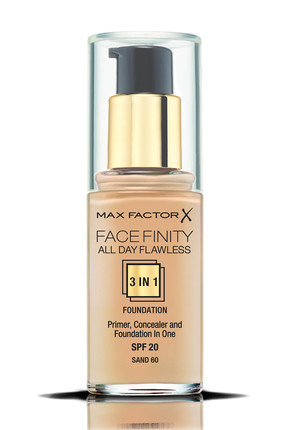 Max Factor Fondöten - FaceFinity All Day Flawless Foundation 060 Sand