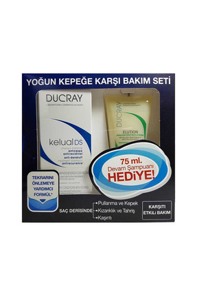 Kelual DS Şampuan 100 ml + Elution Şampuan 75 ml 3282779039512