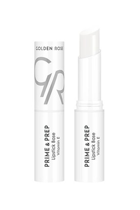 Ruj Bazı - Prime & Prep Lipstick Base Golden Rose