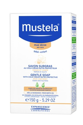 Mustela Mustela Mild and Rich Soap With Cold Cream 150g