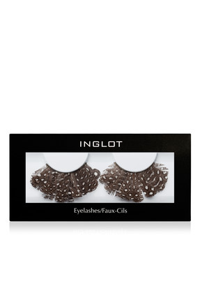 INGLOT Tüylü Takma Kirpik - Decorated Feather Eyelashes 54F