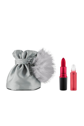 Ruj & Parfüm Seti - Snow Ball Shadescents Kit Ruby Woo 773602442263