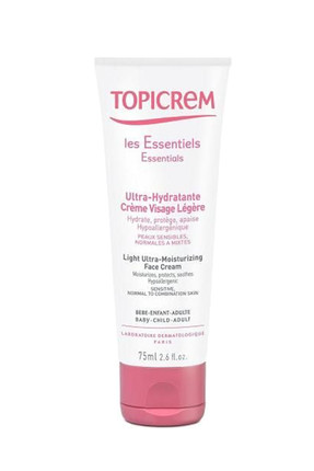 Topicrem Yoğun Nemlendirici Yüz Kremi - Light Ultra Moisturizing Face Cream 75 ml