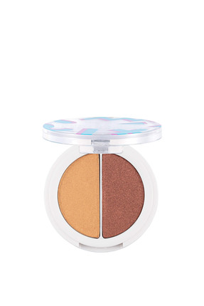 Flormar 2'li Göz Farı - Perfect Match Duo Eyeshadow 001 Gold&Copper