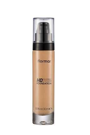 Flormar Fondöten - Invisible Cover Hd Foundation Honey 30 ml