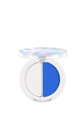 Flormar 2'li Göz Farı - Perfect Match Duo Eyeshadow 004 Whıte&Electrıc Blue