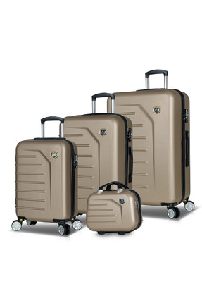 My Valice Gold Premium Abs 4'Lü Travel Valiz Seti