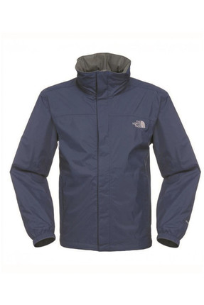The North Face - M Resolve Jacket - Erkek Yağmurluk Lacivert