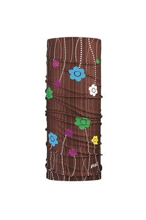 Original Flowers Brown Bayan Bandana Kahverengi