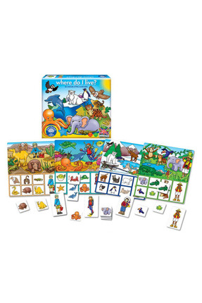Orchard Orchard Puzzle Where Do I Live? /