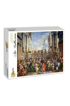 Paolo Veronese: The Wedding at Cana, 1563 1000 Parça Puzzle GRA00074