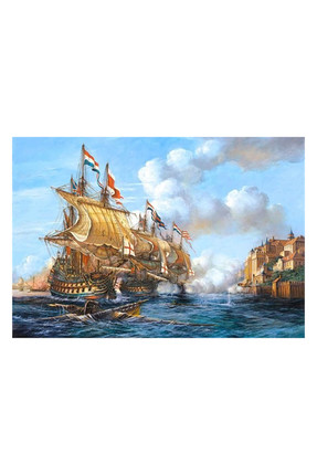 Battle Of Porto Bello  2000 Parça Puzzle