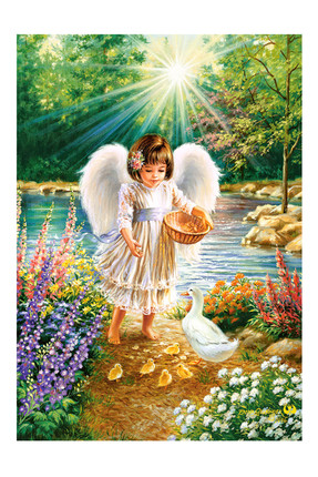 An Angel's Warmth 500 Parça Puzzle