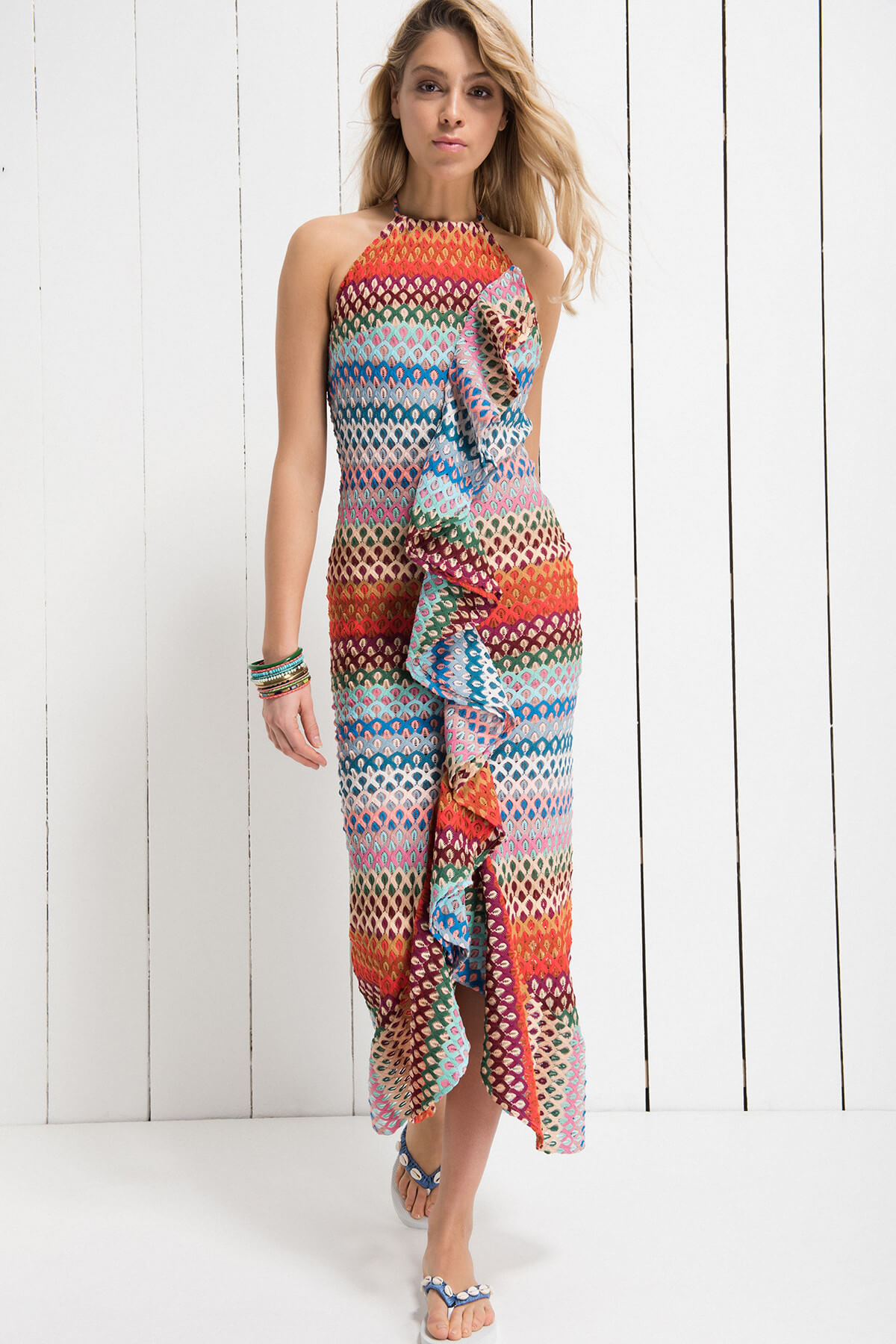 lilyandrose x trendyol miss dress rainbow