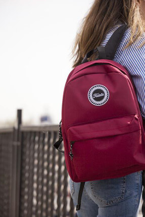 ZYE Burgundy Backpack Sırt Çantası