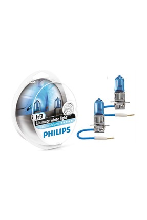 Philips H3 Model Diamond Vision Far Ampül Seti 422875