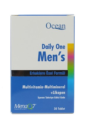 Daily One Men's Multivitamin 30 Tablet 8697595870679