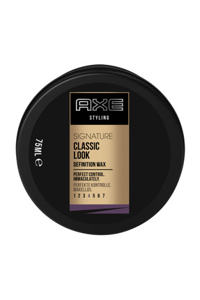 Saç Şekillendirici Wax - Classic Look Definition Paste No: 4 125 ml 8690637808593